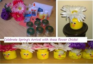 flower chicks