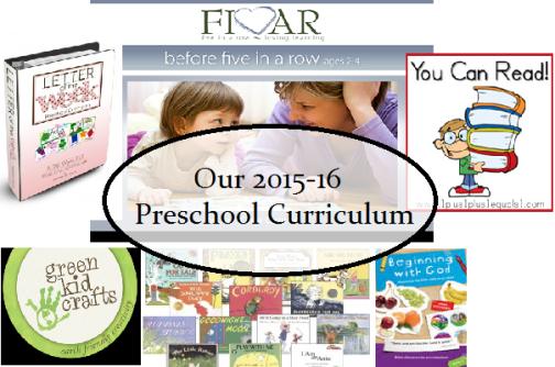 Preschool Curriculum