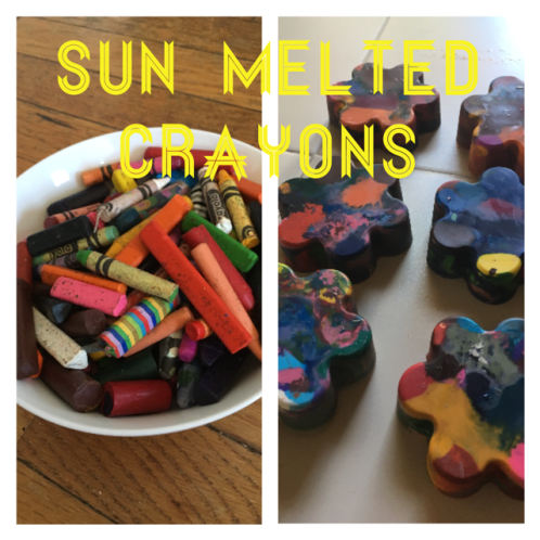 Sun Melted Crayons